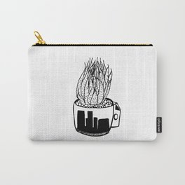 Cactus in a Cup Pen Drawing Carry-All Pouch