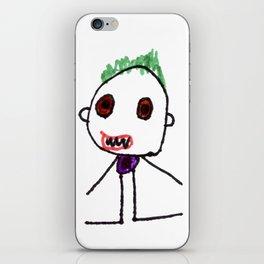 Villain 1 iPhone Skin