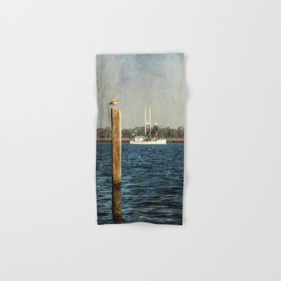 Shrimp Boat Hand & Bath Towel