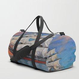 Sailing ship Duffle Bag