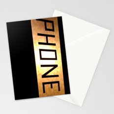 Phone Stationery Cards