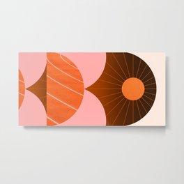 Abstraction_Sunshine_Minimalism_002 Metal Print