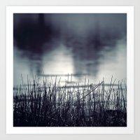 Between the Waters Art Print