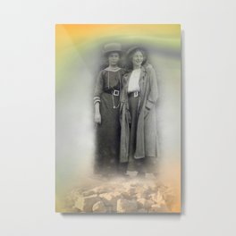 old friendship Metal Print