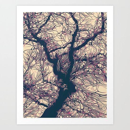 treeflex Art Print