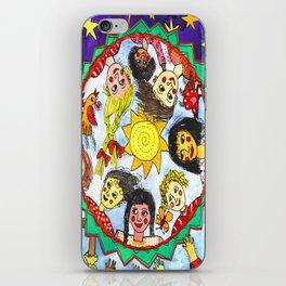 LOS NIÑOS DE CHIAPAS iPhone Skin