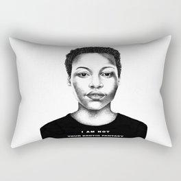 I Am Not Your Exotic Fantasy Rectangular Pillow