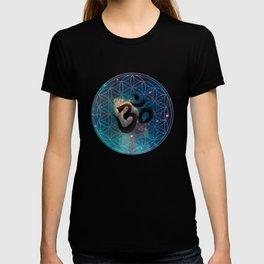 Om & Flower of Life T-shirt