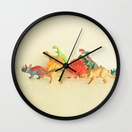 Walking With Dinosaurs Wall Clock