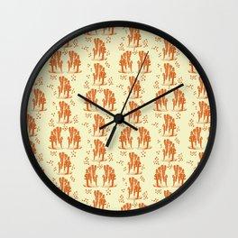 Marine corals Wall Clock