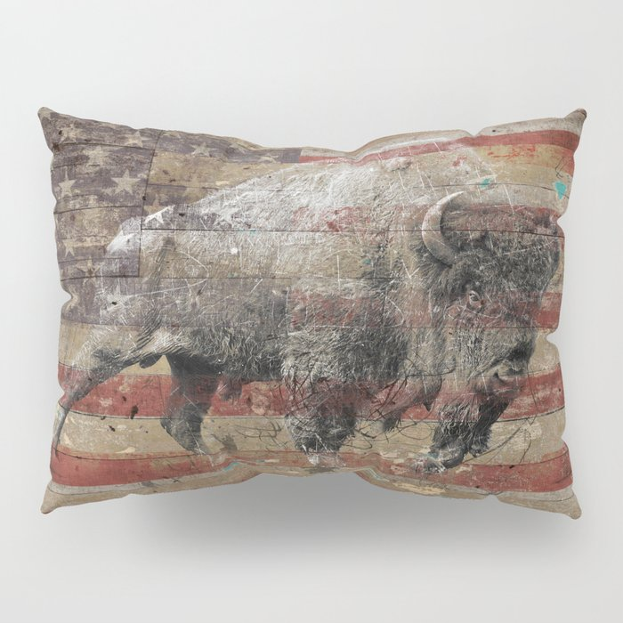 American Bison 2 Pillow Sham