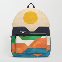 Tale from the shore Backpack