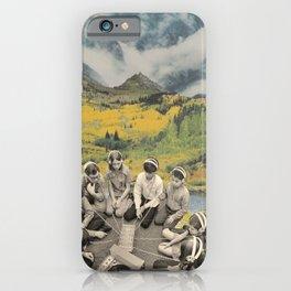 Mountain sound iPhone Case