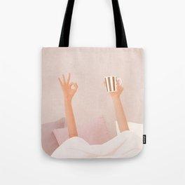 Morning Coffee II Tote Bag