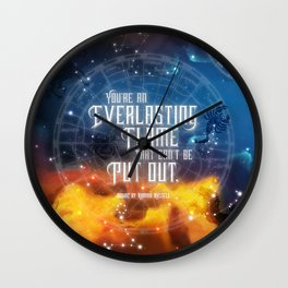 Zodiac - Everlasting Flame Wall Clock