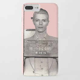 PINKY BOWIE ARRESTED iPhone Case