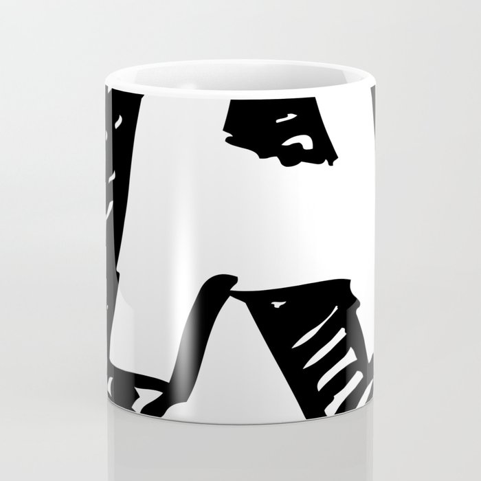 A Letter As Marker Sketch In Black Coffee Mug By Kirstenrenfroephotography Society6