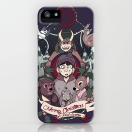 Merry Critter Christmas (South Park) iPhone Case