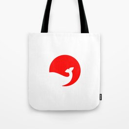 Rising Sun, Sinking Whale Tote Bag
