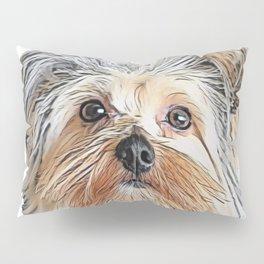 Dog Yorkshire Terrier Silky shock 7 pounds whelp Pillow Sham