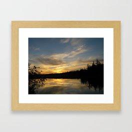 Sunset 37 Framed Art Print