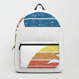 retro aruba keepsake tee for aruba vacationers Backpack