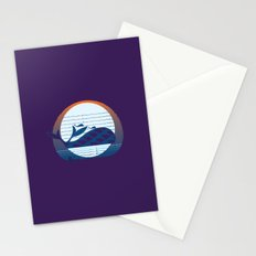 Whale Migration Stationery Cards