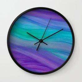 Mermaid Ocean Waves Wall Clock