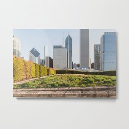 Chicago in Spring Metal Print
