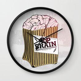 Pop Brain Wall Clock
