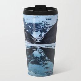 Lake Louise at sunset Travel Mug
