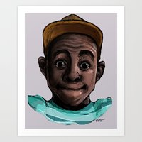 tyler the creator Art Prints featuring Tyler The Creator by ASHUR Collective™