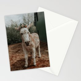 Baby in Bloom II Stationery Cards