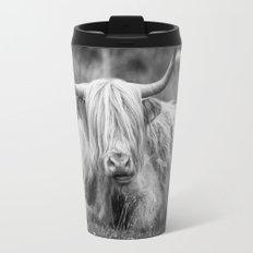 A Highland Cow Travel Mug