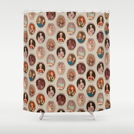 The Coffee Shop Shower Curtain