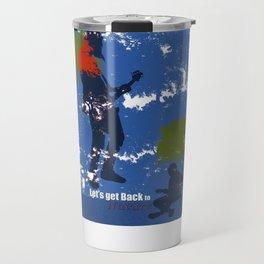 Let's get back to nature-Music. Travel Mug