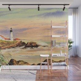 Portland Head Lighthouse Maine Wall Mural