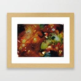 Geyser Anemone Framed Art Print