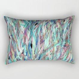 Meadows (Self- Portrait) Rectangular Pillow