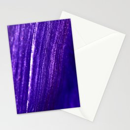 sparkly blue Stationery Cards