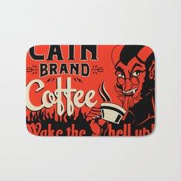 Cain Brand coffee Bath Mat