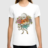 kitsune T-shirts featuring Kitsune by Total-Cult