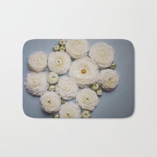 Floral Pattern   Bath Mat