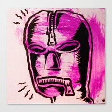 fetish mask Canvas Print