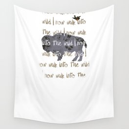 Walk into the Wild Wall Tapestry
