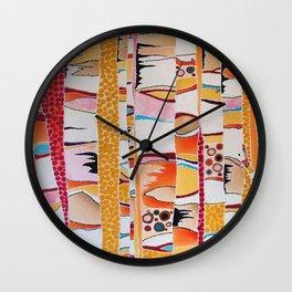 Marmalade Morning Wall Clock