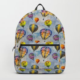 Fractal Balloons floating in a textured grey sky    Edit Backpack