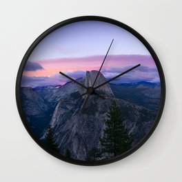 Smokey Ridge Mountains Wall Clock