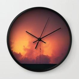 Horizon Fire Wall Clock