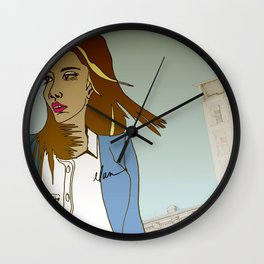 City Living Series I by ELAN Wall Clock